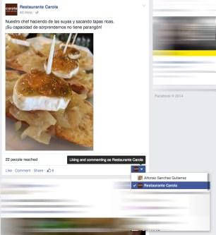 Facebook boton administrador imagen 2