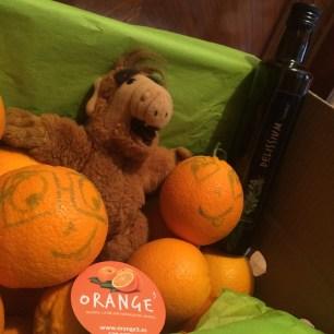 Alf y Orange3 - Naranjas sonrientes