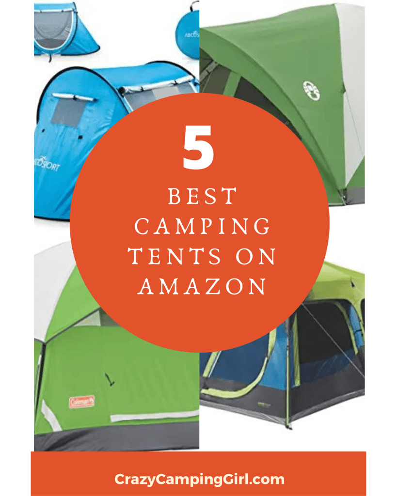 Best Camping Tents on Amazon article cover image