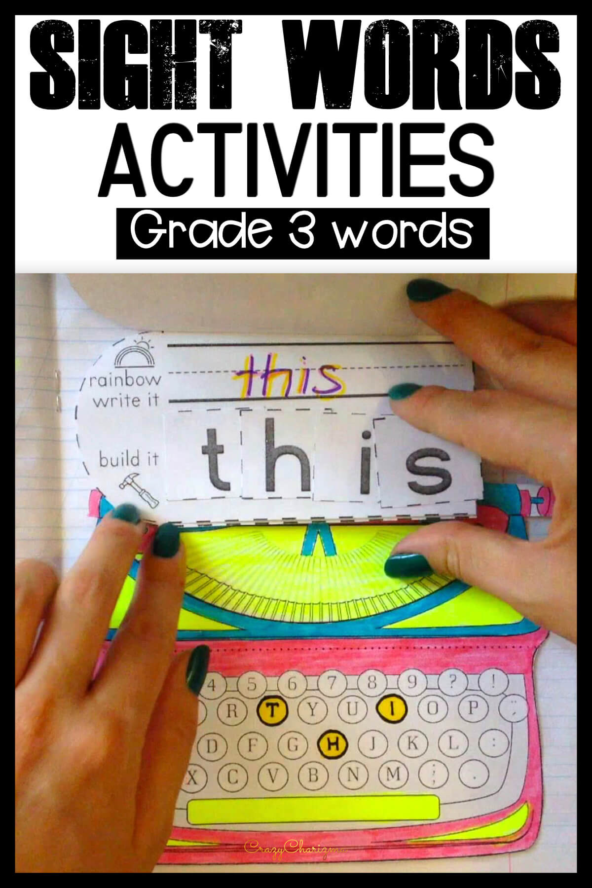 hight resolution of Dolch Sight Words Grade 3