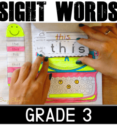 Dolch Sight Words Grade 3 [ 1500 x 1500 Pixel ]