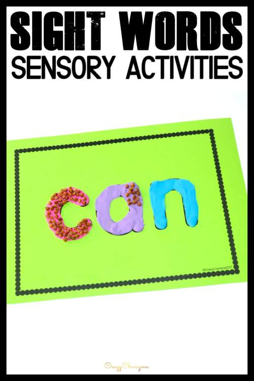 small resolution of Sight Word Game and Worksheets in Kindergarten