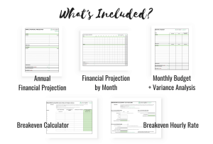 The Ultimate Business Budget Spreadsheet Bundle