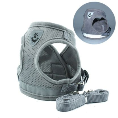 Grey Dog Harness