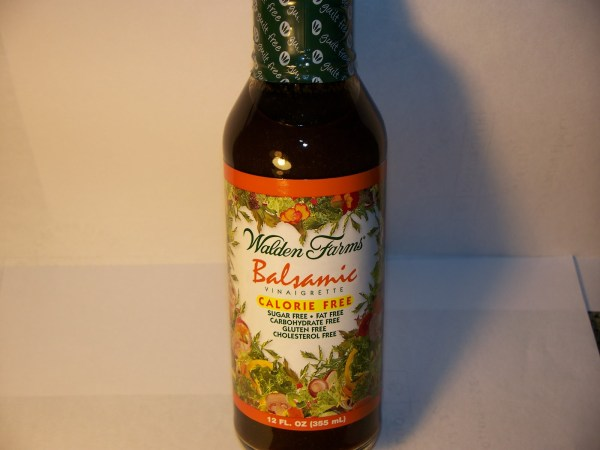 Review Walden Farms Balsamic Vinaigrette Salad Dressing