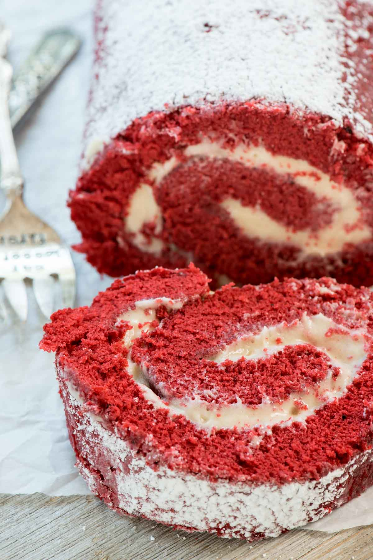 Red Velvet Swiss Roll : velvet, swiss, Velvet, Crazy, Crust