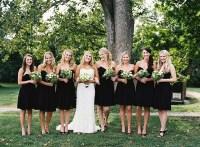 Bridesmaids In Black - Too Dark or Just Perfect? - crazyforus