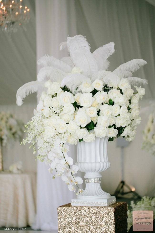 WEDDING FLORAL DESIGN GOES GATSBY CHIC Crazyforus