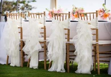 Diy Chair Sashes For Weddings