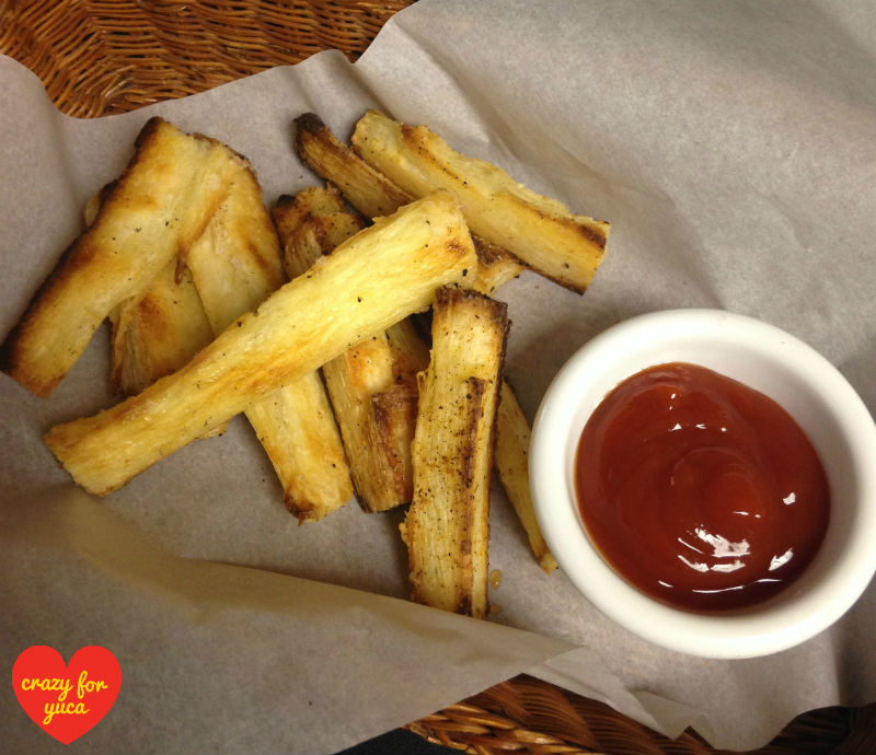how to make fried yuca