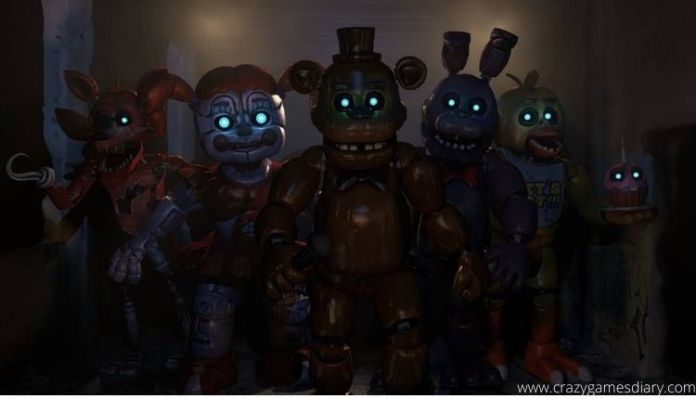 Five Nights at Freddy crazy games 2021