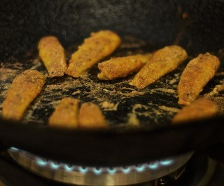 Fried fish on the menu for my Goan boys - every single meal!