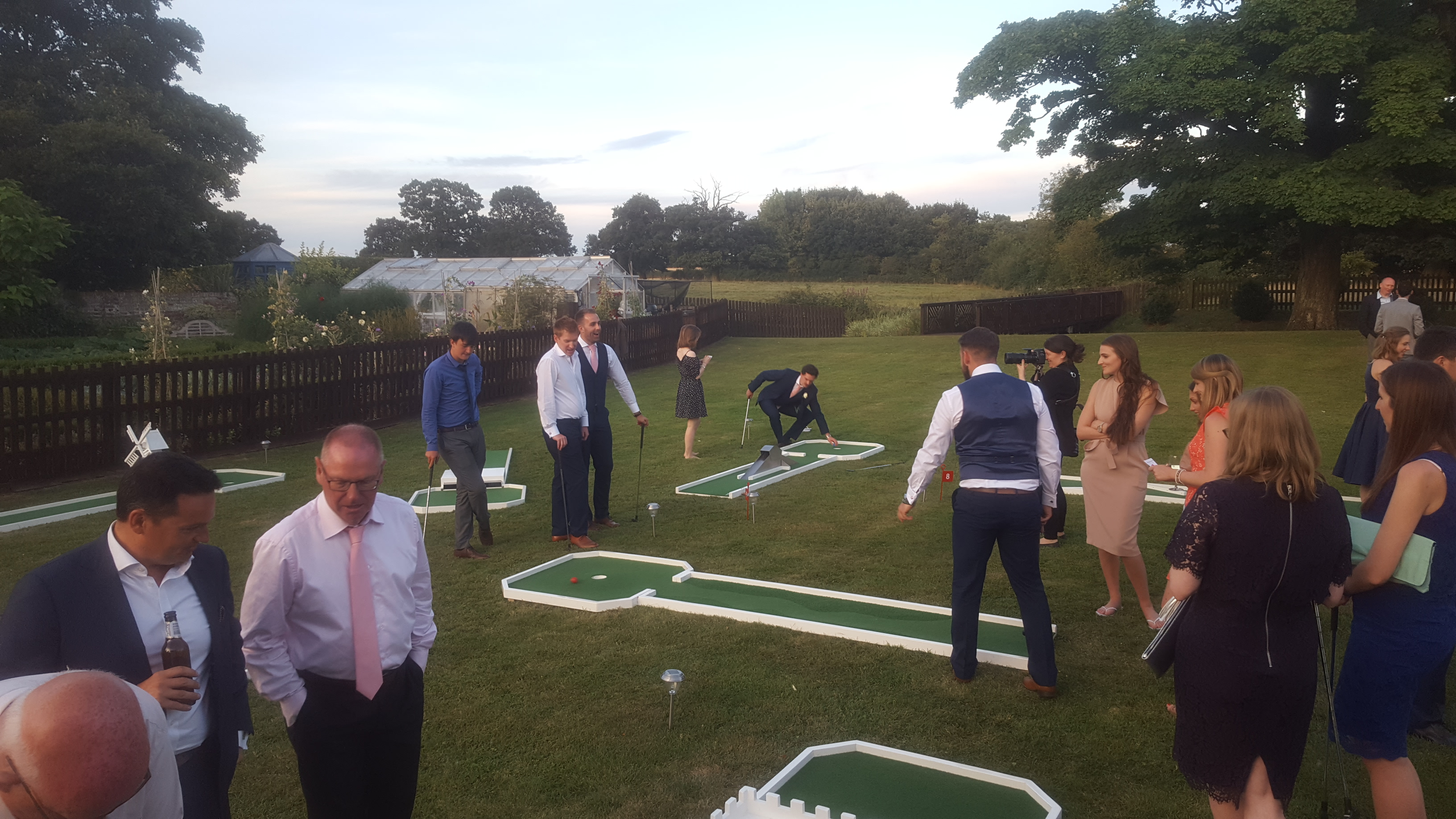 Mobile Crazy Golf Hire and Rental