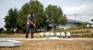 Mobile Crazy Golf Hire and Rental Slider
