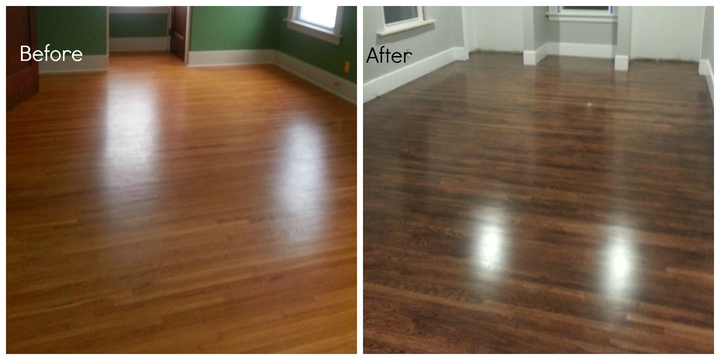 Refinishing our Floors