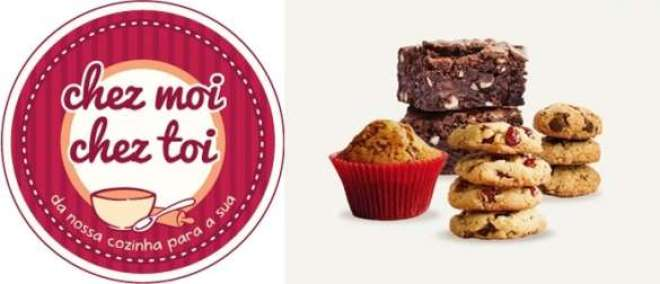 Chez Moi Chez Toi oferece misturas pré-preparadas de cookies, brownie e bolinho formigueiro para a família preparar com praticidade.