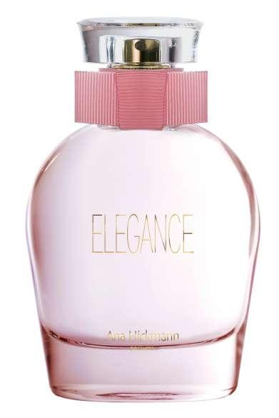 O perfume floral evidencia a delicadeza da apresentadora por meio de uma suave combinação de notas aromáticas.