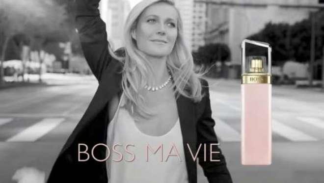Como a mulher BOSS, Gwyneth Paltrow irradia confiança, o que é evidente na maneira que ela veste o traje, o jeito que ela anda, sua postura e do perfume que ela escolhe para usar.