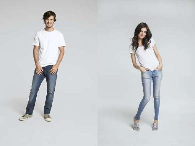 """Para a campanha, marca continua apostando na importância das pessoas para dar significado às roupas, desta vez com a mensagem """"jeans não perdem a cabeça sem você""""."""