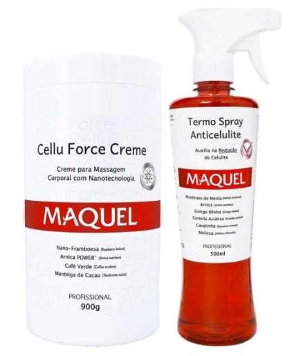 Linha Cellu Force:produtos que utilizam a Nanotecnologia para combater a celulite.
