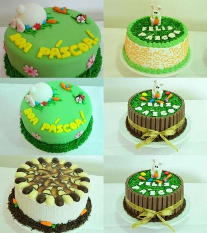 A Confeitaria Coruja lança para esse feriado o bolo de Páscoa de quase de 1 quilo.