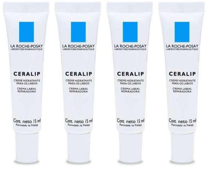 Ceralip, um baume labial que evita a desidratação, protegendo esta região do ar e também da saliva.