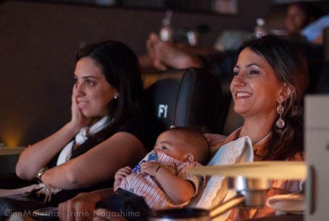 Após o filme, as mães presentes serão convidadas para um lanche na PB Kids.