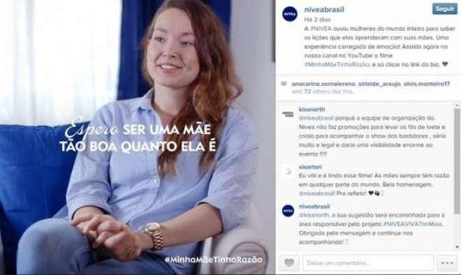 A ação incentivará mulheres a valorizar e compartilhar conselhos de suasmamães nas redes sociais.