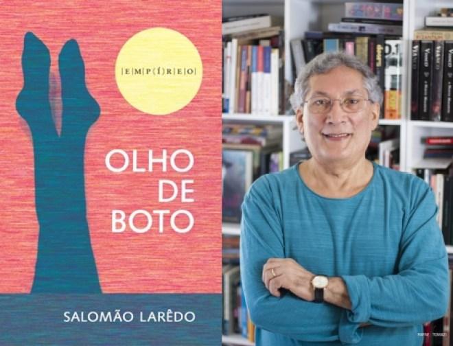 """""""Olho de Boto"""", novo livro de Salomão Larêdo será lançado dia 02 de junho."""