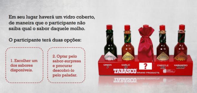 A marca traz para os arraiás paulistanos uma degustação dos variados sabores Tabasco incluindo até uma surpresa.