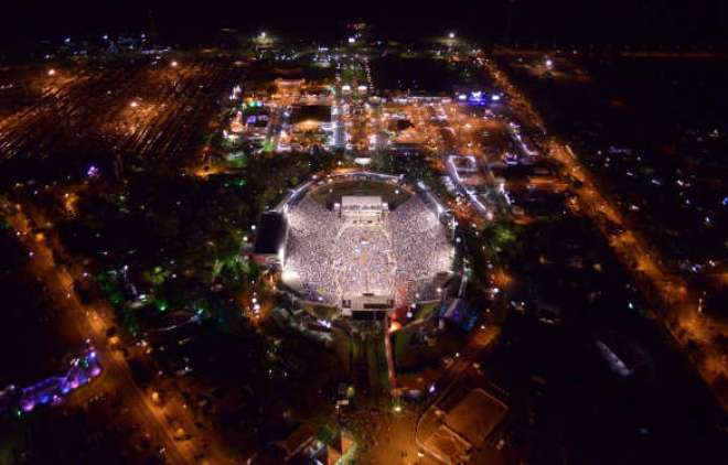 Celebrando 60 anos de história, o maior evento sertanejo do país acontece entre os dias 20 e 30 de agosto, atraindo 900 mil visitantes em 11 dias de festa. (Foto: André Monteiro)