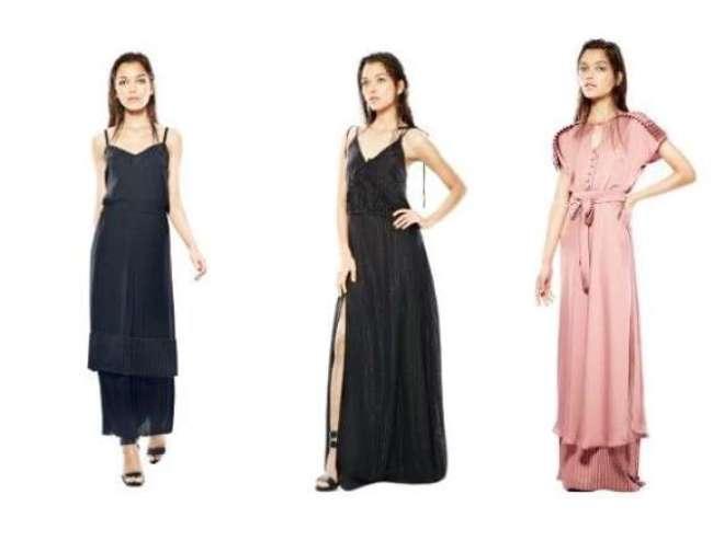 Ao todo são seis modelos, sendo três peças da coleção de verão 2016 e três vestidos exclusivos, confeccionados especialmente para a loja.