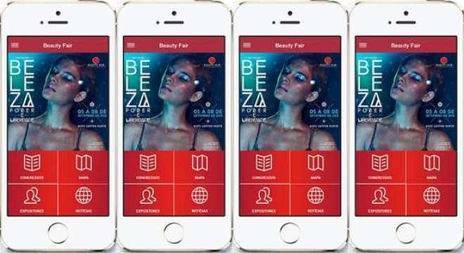 Ao baixar gratuitamente a ferramenta os participantes já podem conferir as novidades da 11ª edição Beauty Fair.