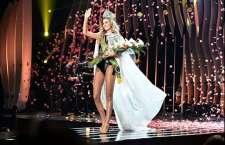 A jovem de 23 anos conquistou o primeiro lugar no concurso que reuniu as mulheres mais bonitas do Brasil e foi transmitido pela Band para todo o país.