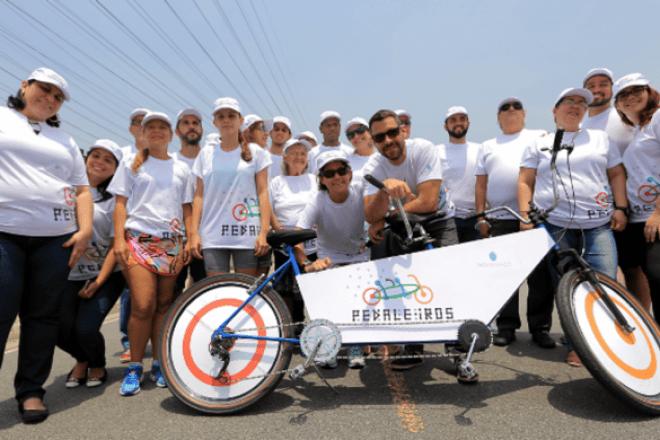 A iniciativa originou-se devida uma das principais dificuldades desses indivíduos – a mobilidade.