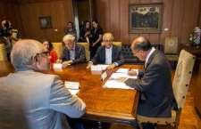 Governador Geraldo Alckmin assina convênio para reconstrução do Museu da Língua Portuguesa. (Foto: Ciete Silvério)