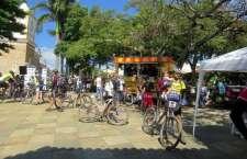 Pelo oitavo ano consecutivo e sempre no dia 1º de Maio, ciclistas mobilizam-se para este desafio de aproximadamente 70 Km entre as cidades de Lavras e Carrancas. (Foto: Fernando Luigi)