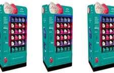 As máquinas automáticas de venda de SOU estão localizadas em pontos estratégicos.