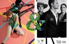 Lançamento, realizado no Rio, contou com a presença de atletas, da estilista Lenny Niemeyer e de representantes da C&A e do COB.