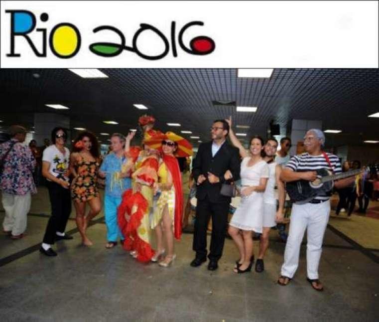 Ação faz parte do receptivo e dos eventos culturais para a Olimpíada na capital.