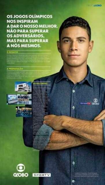 O atleta brasileiro Thiago Braz, recordista olímpico e medalha de ouro no salto com vara, estampará a campanha veiculada no Brasil.