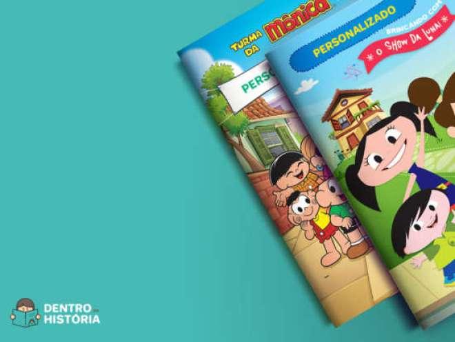 Novidade permite a criação de um livro personalizado onde as crianças são protagonistas da história.