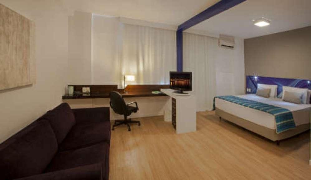 Apartamento categoria Executiva do Quality Suites Alphaville.