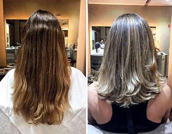 Antes e depois Marcelle Bittar