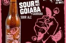 A Sour Me Not - Goiaba, disponível no Brasil e nos Estados Unidos, é mais uma novidade da cervejaria paranaense para 2017.