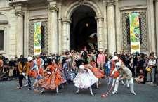 Público assiste a apresentação do Brasil Junino em Roma. (Foto: Ana Paula Torres / Embaixada do Brasil em Roma