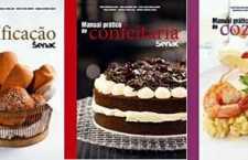 Os três livros apresentam conhecimentos técnicos, receitas e informações fundamentais para profissionais e amantes da gastronomia.