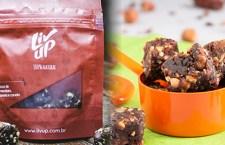 Liv Up amplia linha de snack doces com dois sabores diferentes