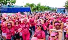 Ação visa a fortalecer o combate ao câncer de mama e difundir informação sobre a doença.