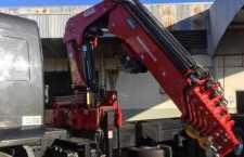 Guindaste tem redução de peso e aumento de capacidade de carga com uso do aço Strenx